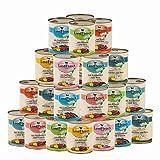 Landfleisch 33 x 800 g Pur Dosen Mix | aus 13 Sorten Frei wählbar | + MIOMERA Gratis Snack