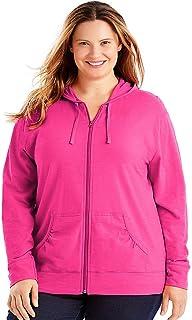 Just My Size Women's Plus-Size EcoSmart Full-Zip Hoodie