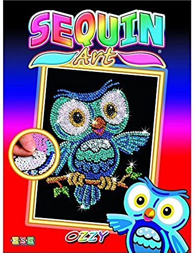 KSG Sequin Art rouge Ozzy the Owl 1403 by KSG