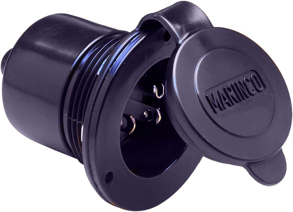 Marinco 150BBI Max 49% Max 42% OFF OFF Marine On-Board Charger 15Amp Hard Bl Wired Inlet