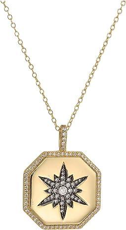 SHASHI Octagon Starburst Necklace
