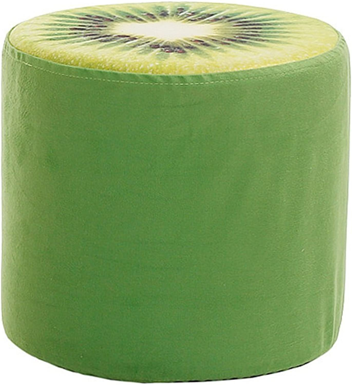 Jingbiao Creative non-slip low stool cloth stool living room sofa stool - small stool (color    5)