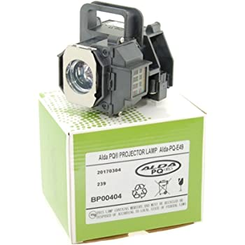 Alda PQ-Premium, Beamerlampe/Ersatzlampe für EPSON EH-TW2800, EH-TW2900, EH-TW3000, EH-TW3200, EH-TW3500, EH-TW3600, EH-TW3800, EH-TW4000, EH-TW4400 Projektoren, Lampe mit Gehäuse