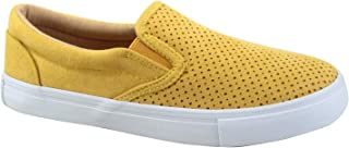 FZ-Tracer-01 Women's Fashion Perforated Slip On Round Toe Sneaker Shoes
