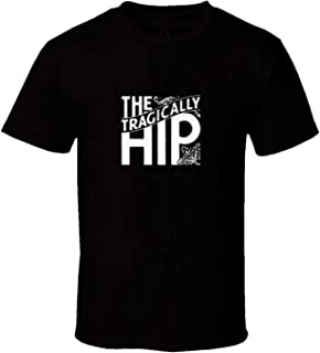 Mens The Tragically Hip Music Stylish Black T Shirts