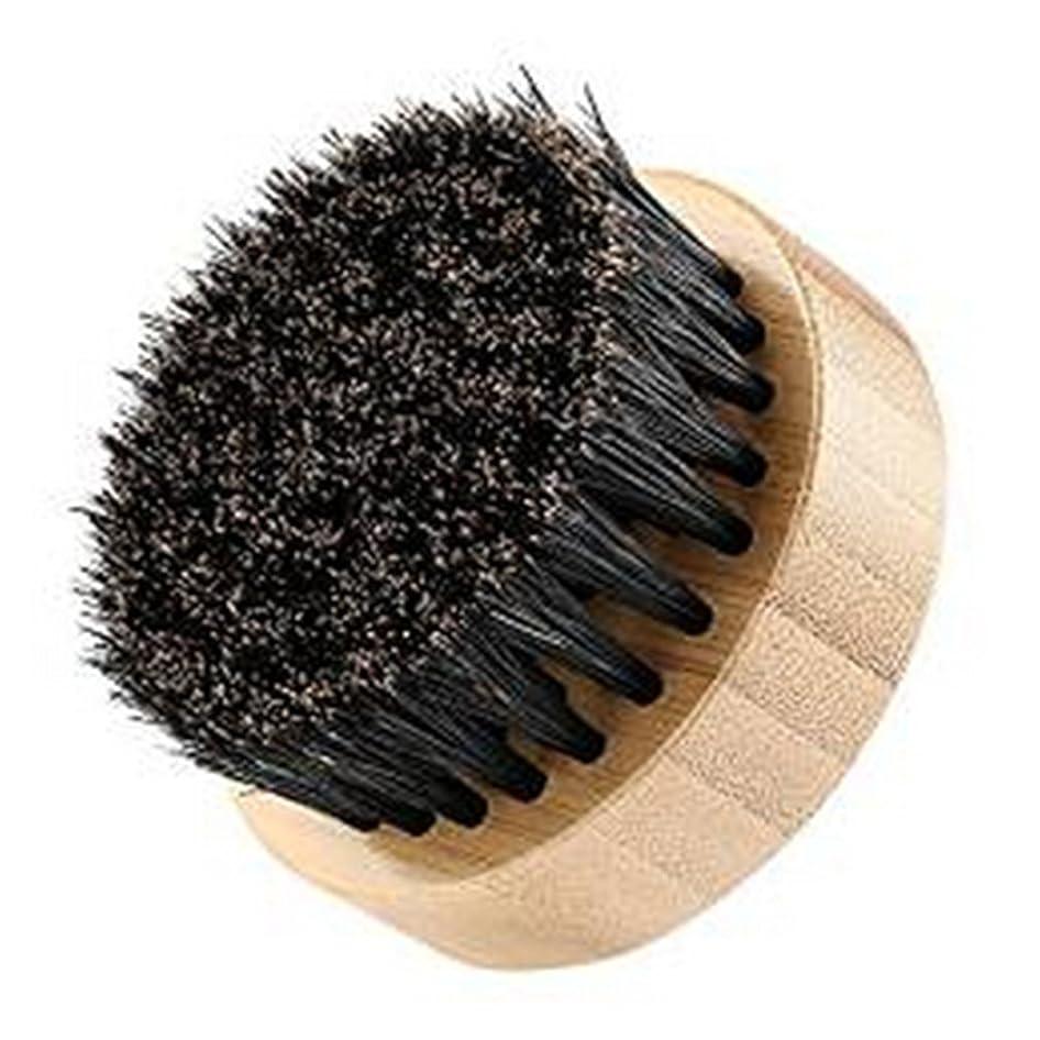 農村セミナー薬理学LUXWELL(ラクスウェル) ブラシ 100% 豚毛ブラシ 天然木 髭ブラシ FH-130