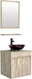 24 inch wall mounted bathroom vanity