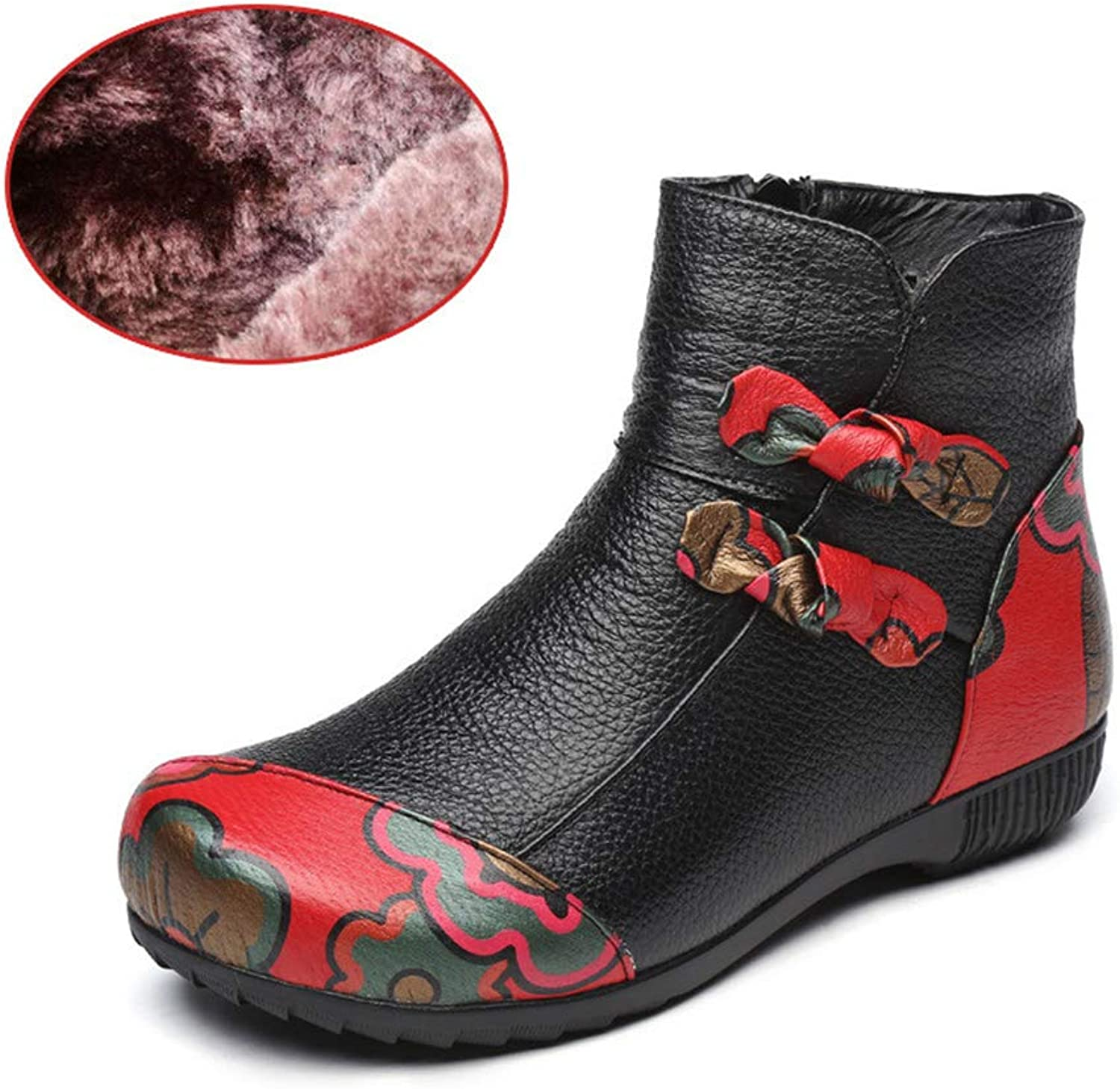 Women shoes Soft Warm Slippers Pregnant Non-Slip Cotton shoes Christmas shoes Plush Women shoes shoes