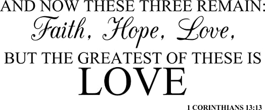 Best and these three remain faith hope and love Reviews