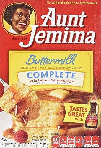 Aunt Jemima Buttermilk Complete Pancake & Waffle Mix (907g)