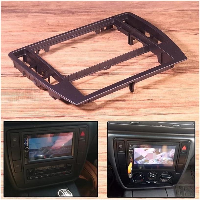 YUYAOYAO ABS 5 ☆ very popular Black Interior Dash Bezel 5% OFF Center Console Panel Trim
