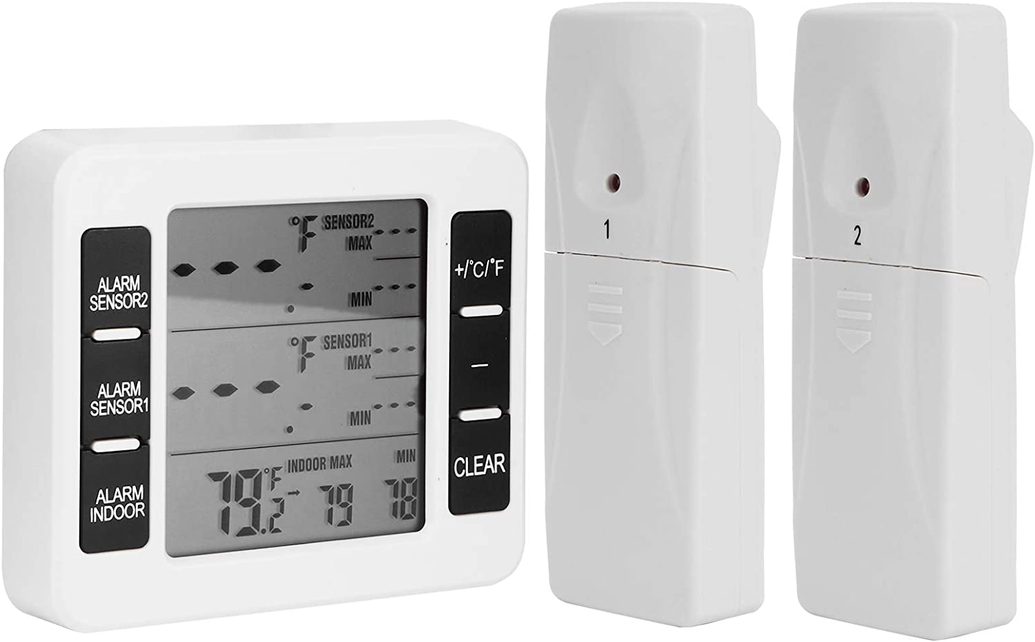 Easy Max 48% OFF to Install Convenient Multifun Super beauty product restock quality top! Practical Thermometer Fridge