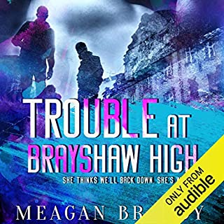 Trouble at Brayshaw High audiobook cover art