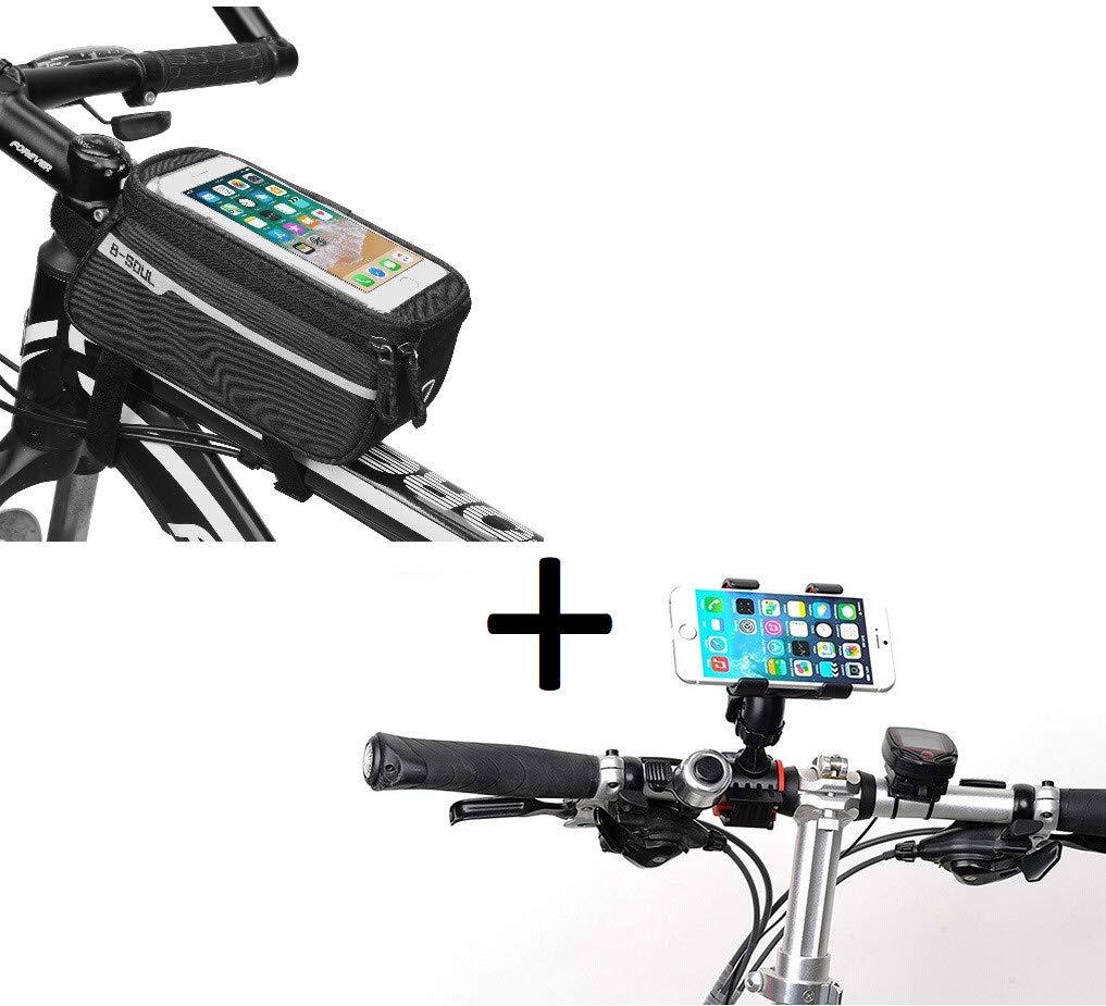 Pack de Bicicleta para Xiaomi Mi Mix 3 Smartphone (Soporte de ...