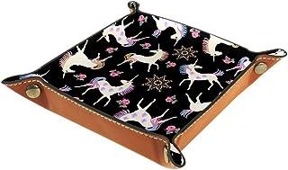 Desheze Licorne (27) Boîte de Rangement Pliable Stockage Boîte Maquillage Bijoux Jouets Papeterie Organisateur Petite Tail...