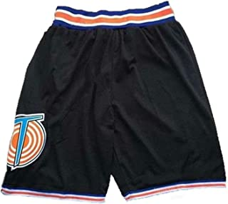 Space Jam Tune Squad Bugs Bunny 1, Lola 10, Space Jam 23 Movie Basketball Jersey and Shorts White S-3XL