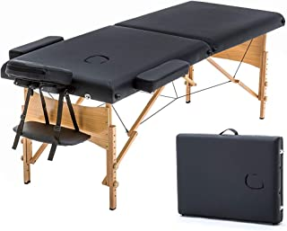 "Massage Table Portable Massage Bed Spa Bed 73"" Long 28"" Wide Hight Adjustable.."