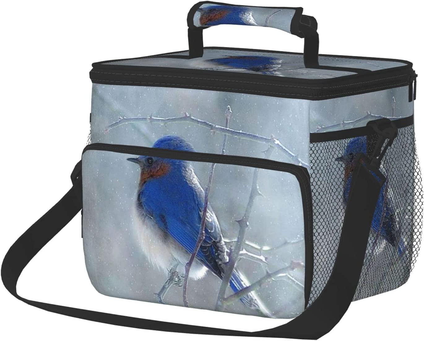 CURANI Blue Bird Insulated Lunch Ranking TOP2 Box Bags for Women Portab 70% OFF Outlet