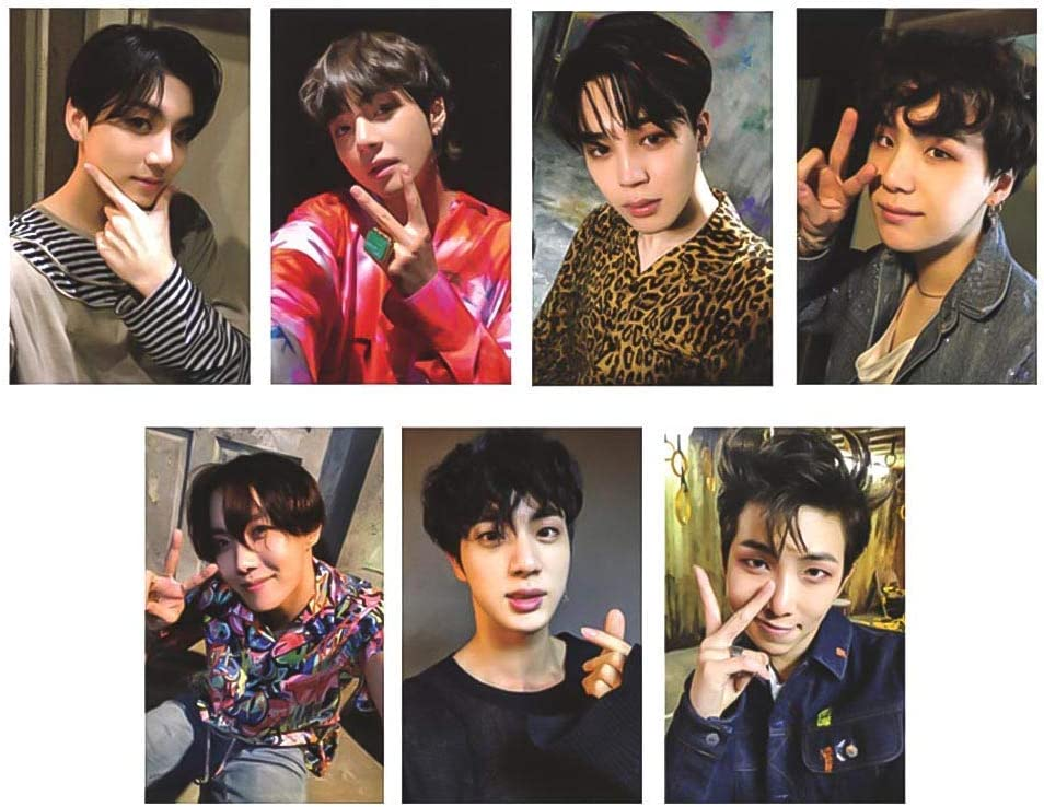 Kpop Bangtan Boys Love Yourself S Max 63% OFF ? NEW before selling ☆ Postcard Photo 'Answer'