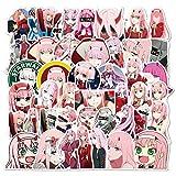 DUOYOU /Set Anime En La Dibujos Animados Pegatinas Para Dibujar Barra Marco Juguetes Niños Diy Coches Mochila Patín Ordenador 50Pcs