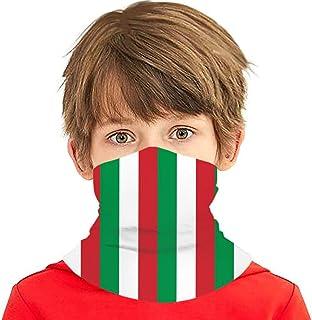 Wthesunshin Bufanda Niños Calentadora De Cuello Bandera de Italia Bufanda de Invierno Bandana Pasamontañas Calentador de C...