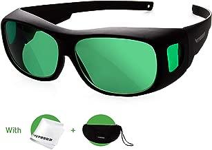 VIVOSUN Indoor Hydroponics LED Grow Room Glasses with Glasses Case