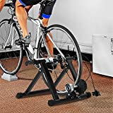 FDW Bike Trainer Stand Bicycle Trainers Road Bike Trainer for Indoor Riding Magnetic Bike Trainer with 5 Levels Resistanc