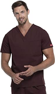 Dickies Unisex Unisex V-Neck Top Medical Scrubs Shirt