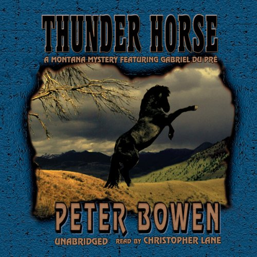 Thunder Horse audiobook cover art