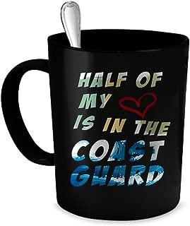 Coast Guard Coffee Mug. Coast Guard gift 11 oz. black