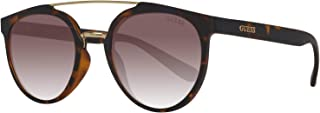 Guess Women's Fashion Sun GU 6890 52F Sunglasses, Brown, 52 mm