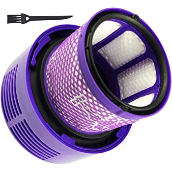 Dttery Filter Replacement for Dyson Cyclone V10 Animal Absolute Motorhead Cordless Vacuum Cleaner, Part 969082-01