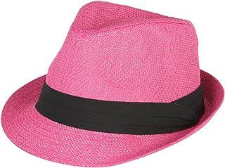 be3bb9fdae9 Amazon.com  Pinks - Fedoras   Hats   Caps  Clothing