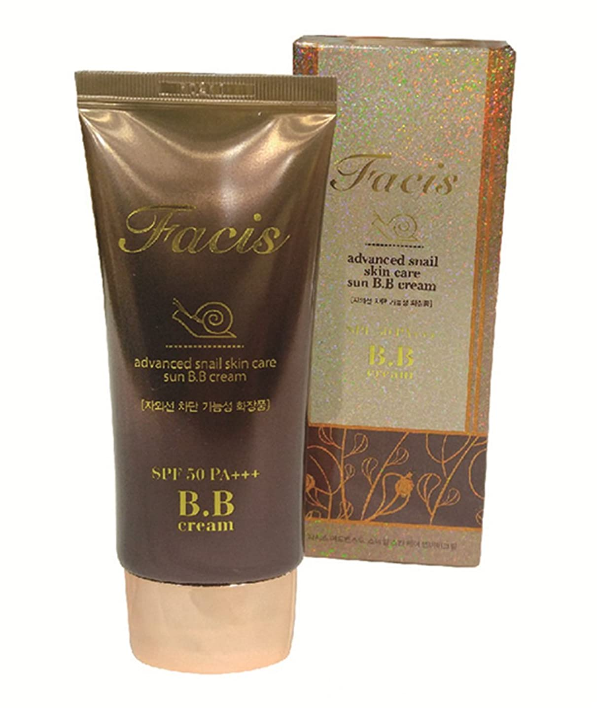 ラベ迷惑野球Facis Advanced Snail Skin Care Sun BB Cream 50ml CH1379619 [並行輸入品]