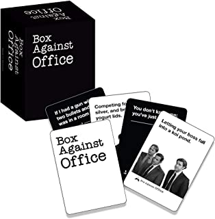 Box Against Office With 180 Cards – Funny Game