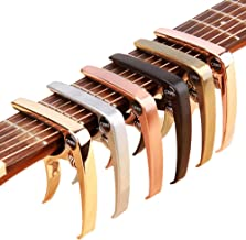 Guitar Capo, OMEDI Capos for Acoustic and Electric Guitars Guitar Accessories Trigger Capo for Ukulele Banjo Mandolin capos
