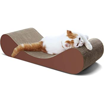 ScratchMe Cat Scratcher Cardboard Lounge Bed