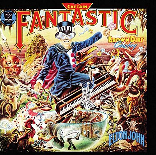 John,Elton: Captain Fantastic and the Brown Dirt Cowboy (Lp) [Vinyl LP] (Vinyl)