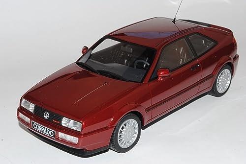 Otto Volkwagen Corrado Coupe Rot G60 1988-1995 Nr 103 1 18 Modell Auto mit individiuellem Wunschkennzeichen