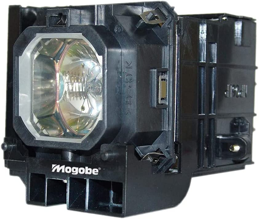 Mogobe for NP06LP Compatible Projector Lamp with Housing for NEC NP1150 NP2150 NP3150 NP3151 NP3151W NP1250 NP2250 NP3250 NP3250W NP1200 NP2200 NP3200