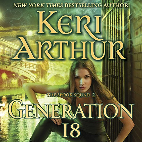 Generation 18 audiobook cover art