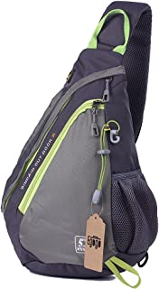 EGOGO Multi-Functional Sling Pack Backpack Cross Body Pack Shoulder Sling Bag E300-5