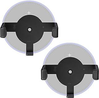 Metal Wall Mount Echo Dot 2nd Generation Holder Bracket Case Stand for Smart Home Speaker Assistant (SWM-EH-02B), 2 Packs,...