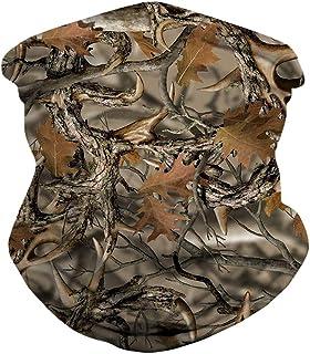 Ainuno Men Women Face Bandana Dust Mask Balaclava Neck Gaiter Wrap Cool Printed (Multi-Function)