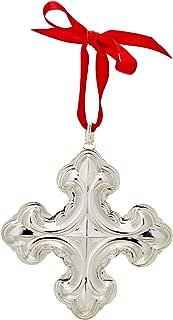 Reed & Barton 877551 Annual Sterling Cross Ornament 2018, 48th Edition, Silver