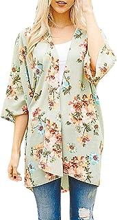 Manga Corta Mujer para Fiesta Boda Chaqueta Corta Primavera Torera Elegante Cárdigan Corto para Verano Kimono