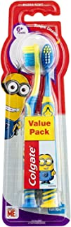 Colgate Kids Toothbrush Minions 6+ Years Extra Soft 2 Pack Colours May Vary