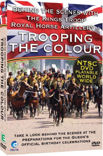 Behind Scenes at Trooping Colour with The Kings Troop Royal Horse Artillery [DVD] [NTSC] [Import]