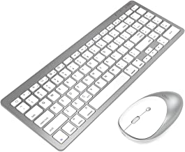 inphic Ultra-Slim Wireless Bluetooth Keyboard Mouse Combo, Compatible with iPad 10.2/9.7, iPad Air 10.5, iPad Pro 11/12.9,...