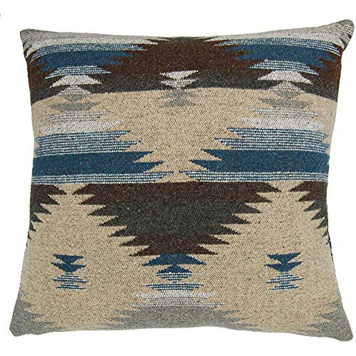 Ruth&Boaz Inka Pattern Square Decor Pillow Case Cushion Cover (18 X18', D(Grey))